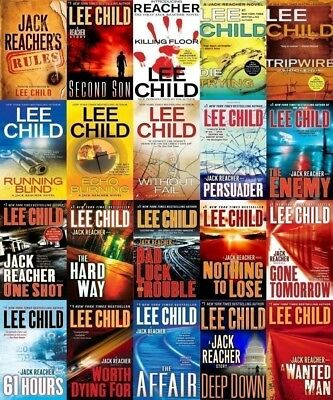 Jack Reacher Audiobook Collection by Lee Child 25 Books Digital MP3 Files