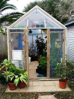 GREENHOUSE PLANS green house GARDEN  hydroponics 30S