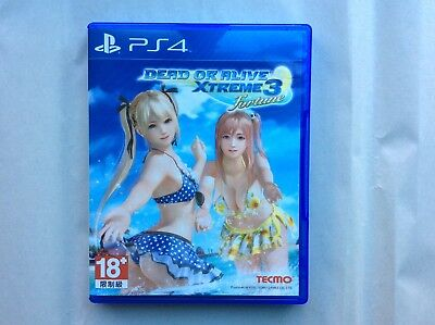Dead or Alive Xtreme 3 PS4 CIB (mature rated game)