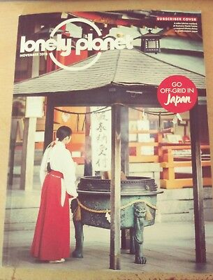 Lonely Planet November 2018 Japan Athens Bruges Read Once Excellent Condition