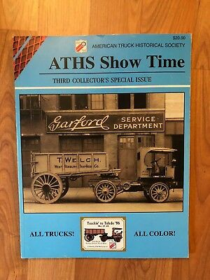 ATHS SHOW TIME  1996  OTTAWA Lake, MI  3rd Collector's Special Issue trucking