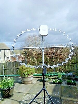 HIGH POWER FRACTAL Magnetic loop antenna 7 Mhz-14 500 Mhz Rigexpert