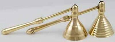 """Brass Mini Beehive Candle Snuffer - 4"""" Handle"""