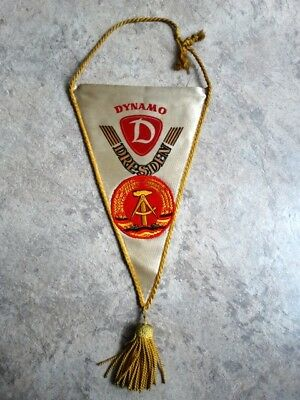 Dynamo Dresden Wimpel pennant vintage