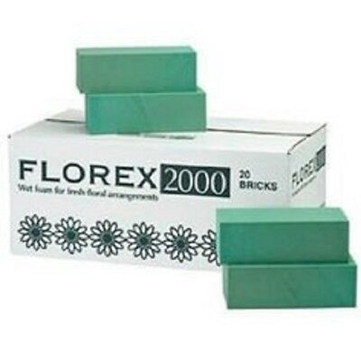 Florex Florist Flower Wet Foam Bricks For Fresh Floral Arrangements