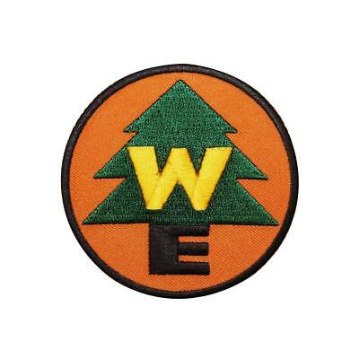 Wilderness Explorer Scout Embroidered Iron On Patch - Disney WE 126-H