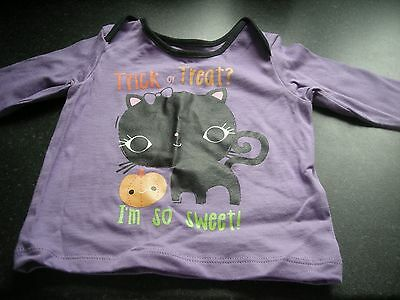 M&s Halloween Baby Trick Or Treat I'm So Sweet T-Shirt 3-6 Months - Brand New