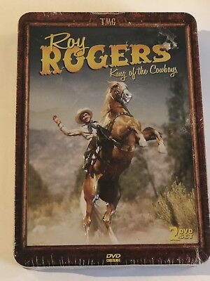 Roy Rogers: King Of The Cowboys (DVD) Collectible Tin OOP
