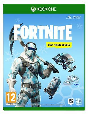 Fortnite Deep Freeze Bundle (Xbox One)  IN STOCK NOW New & Sealed  UK PAL