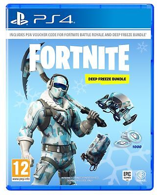 Fortnite Deep Freeze Bundle (PS4) IN STOCK NOW New & Sealed UK PAL