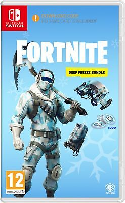 Fortnite Deep Freeze Bundle (Nintendo Switch) IN STOCK NOW New & Sealed UK PAL
