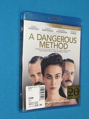A Dangerous Method [Blu-ray] FACTORY SEALED