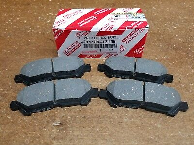 Toyota Highlander 2008-14 Rear OEM Ceramic Brake Pads w/o Shims 04466-AZ105