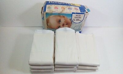 Vintage Pampers OverNight Diapers 5-10 kg