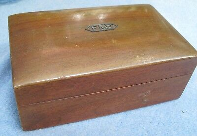"Alfred Dunhill Cigar Box Humidor~Rounded Top~7-3/4"" X 5"" X 3"""