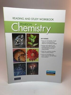 Pearson Chemistry Reading and Study Workbook Student Homeschool 11 grade high