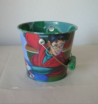 Harry Potter bucket pail collectable Quidditch Playworks Rare Philosophers Stone