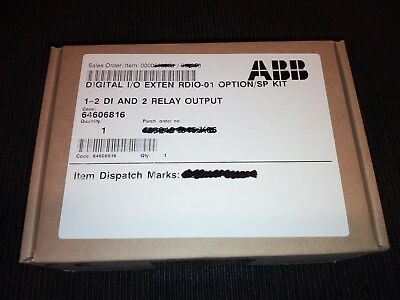 Abb Acs800 - Rdio-01 Expansion Card (2Di+2Do) - New In Original Packing