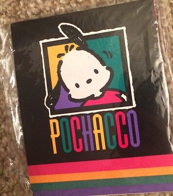 Sanrio Pochacco Dog Paper Notepad  Sealed Never Opened