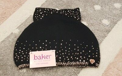 Girls 👑🌹TED BAKER🌹👑 Diamontè Winter Hat Age 3-6 Yrs BNWT