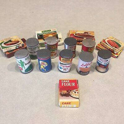 Vintage Miniature Boxed Play Food