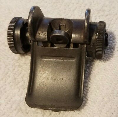 M1 Garand Post WWII/Korea rear sight set- DRC, WCE