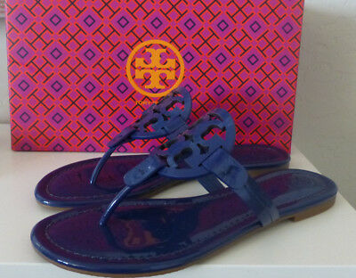 81169f8e1c6ff5 NIB Tory Burch Miller Sandal Bright Indigo Blue Size 8 New In Box  51394