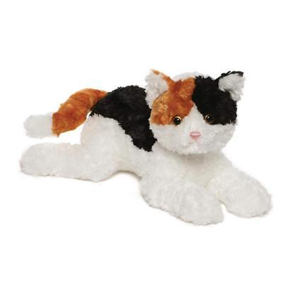 "GUND Chelsea Calico Cat Plush Stuffed Animal 14"", Multicolor"
