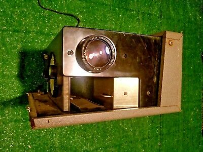 Vintage Kodak Cavalcade 500 Projector with case and remote control - Tested