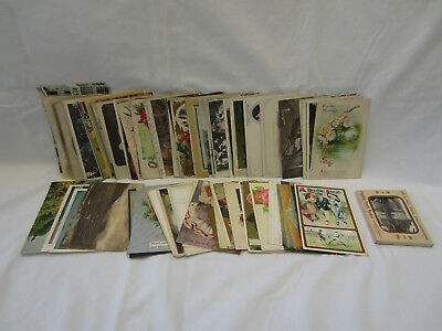 Large Lot of over 80 Vintage Postcards, Holiday, Photo, USA