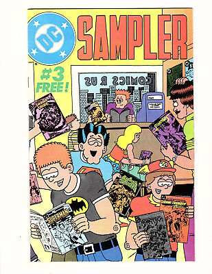 DC Sampler #3 (1984) VF 1st Cameo John Constantine in Swamp Thing Preview