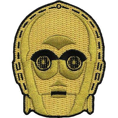 Star Wars C3PO Droid Embroidered Iron On Patch - Disney Movie Robot 127-D