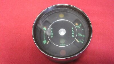 Porsche 912 Combo Gauge 902-741-501-01 Fuel / Temperature 1/66 GENUINE NICE