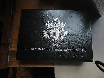1992  US Mint Premier Silver Proof Set