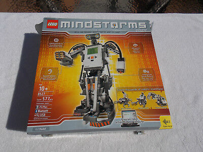 Lego Mindstorms Nxt 8527 Robotics With Box Instructions Cd Looks