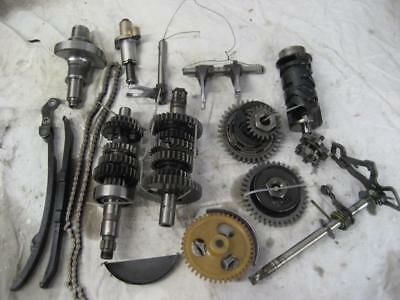 Yamaha TTR230 original gears, shafts, shift selector, oil pump