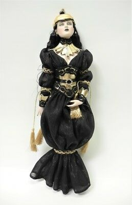 "Tonner Re-Imagination 16"" BLACK FLAME DOLL 2009"
