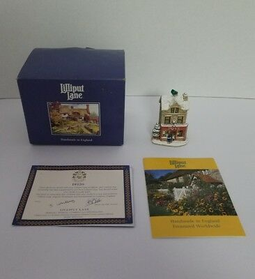 Lilliput Lane Great Expectations Christmas Collection Autographed Deed RT43