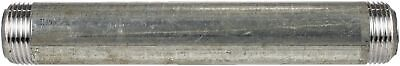 """Galvanized Industrial Pipe Decor 3/4""""X6""""-6"""" - 10 Pack"""