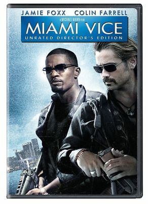 Miami Vice (DVD, 2006, Unrated Director's Edition, Widescreen) *NEW* *FREE Ship*