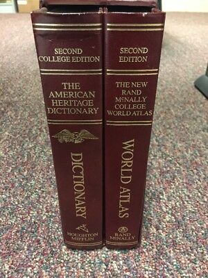 The New Rand McNally College World Atlas Second Edition&American Heritage Dictio