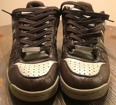sports shoes 30ac9 618b5 ... good 76b05 ADIDAS Comptown St. Brown Leather (Mens 10.5) Pre-Owned  034c5 ...