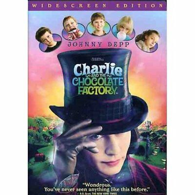 Charlie and the Chocolate Factory (DVD, 2005, Widescreen) *FREE Shipping*