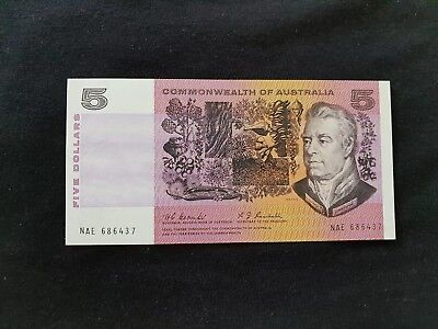 Coombs Randall $5.00 Uncirculated