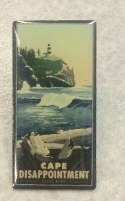 CAPE DISAPPOINTMENT State Park ~ Lapel Hat Pin