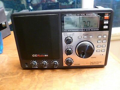 CCRadio SW Portable FM/Stereo/AM/Shortwave Radio by C.Crane