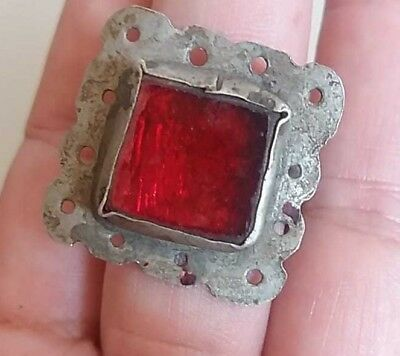 THE  VIKING  SILVER  RING  museum quality ARTIFACT RARE EXTREMELY ANCIENT