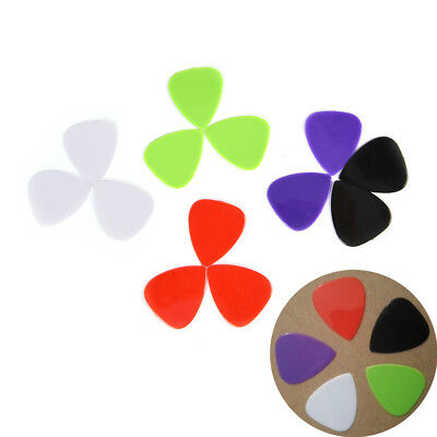 12Pcs Guitar Picks The Guitar Pick Size 0.73mm Music Instrument random color ZY