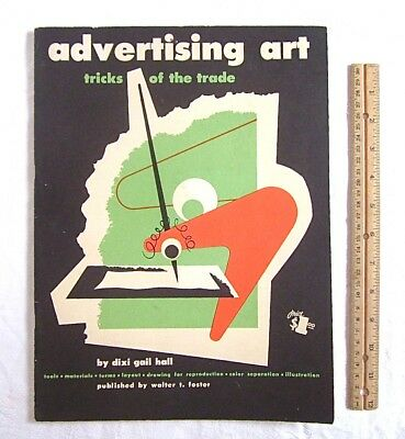 Mid Century Modern Advertising Art Tricks of the Trade Illustrated Vintage Book