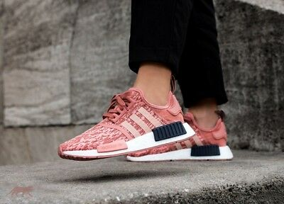 4fea23fc2 ADIDAS NMD R1 Womens Raw Pink Trace Pink Legend Ink LIMITED BY9648 ...